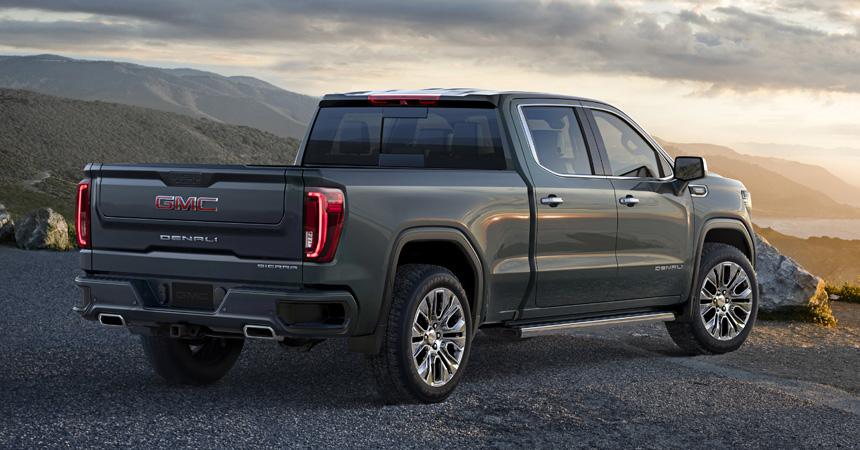 Chevrolet оснастила новый пикап GMC Sierra уникальными опциями
