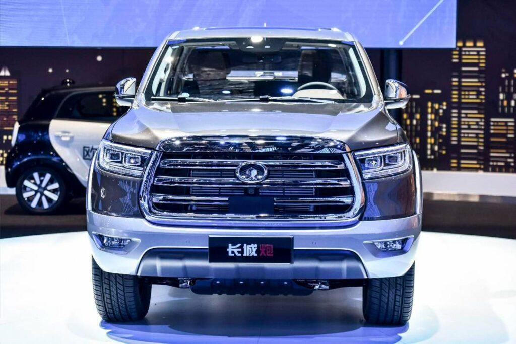 Great Wall показал в Шанхае новый пикап P-серии