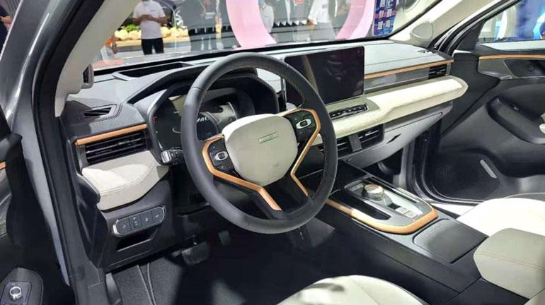 На автосалоне в Гуанчжоу дебютировал новый кроссовер Haval H2