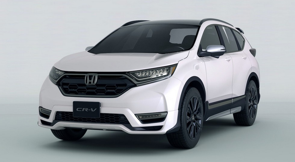Спортивный кроссовер CR-V Custom Concept представит Honda в Токио