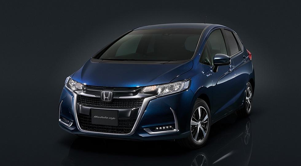 Компания Honda представит хэтчбек Fit от суббренда Modulo Style