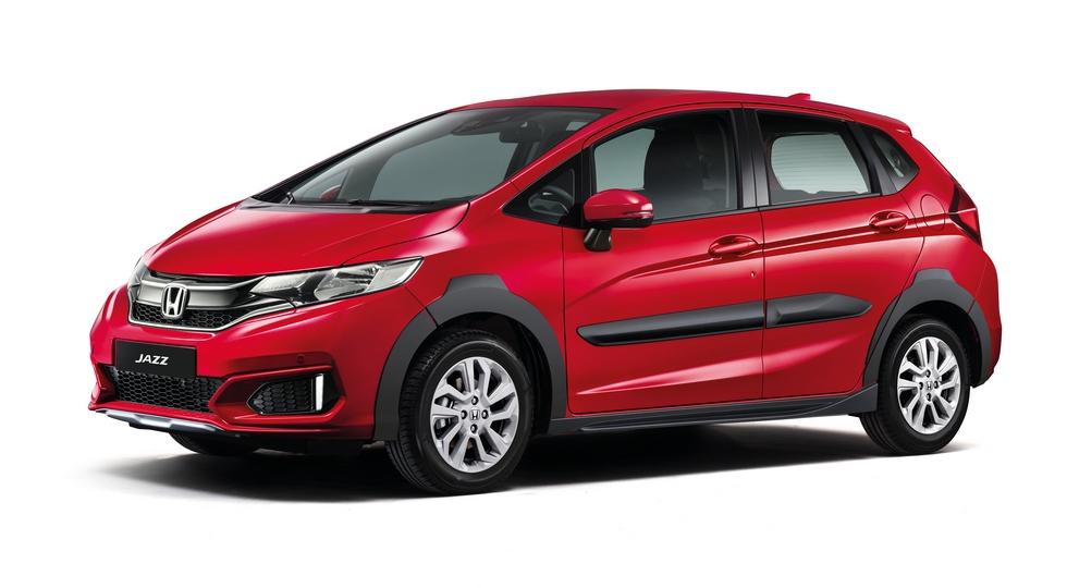 Модель Honda Jazz получила кросс-версию Jazz X-Road