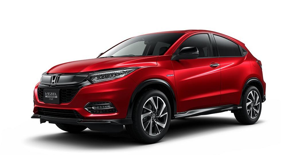 В Сети рассекретили обновленный кроссовер Honda HR-V 2018