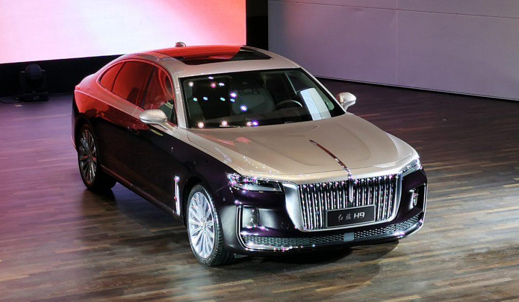 Объявлена стоимость аналога Aurus Senat в лице седана Hongqi H9