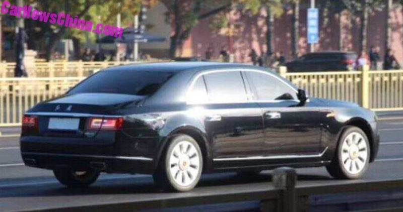 Китайская Hongqi готовит конкурента BMW 5 на базе Audi A6