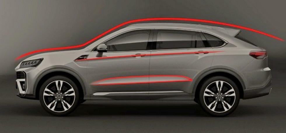 Huansu рассекретила новый кроссовер – «клон» Lamborghini Urus