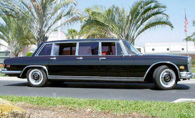 Раритетный лимузин Mercedes-Benz 600 Pullman выставлен на аукцион