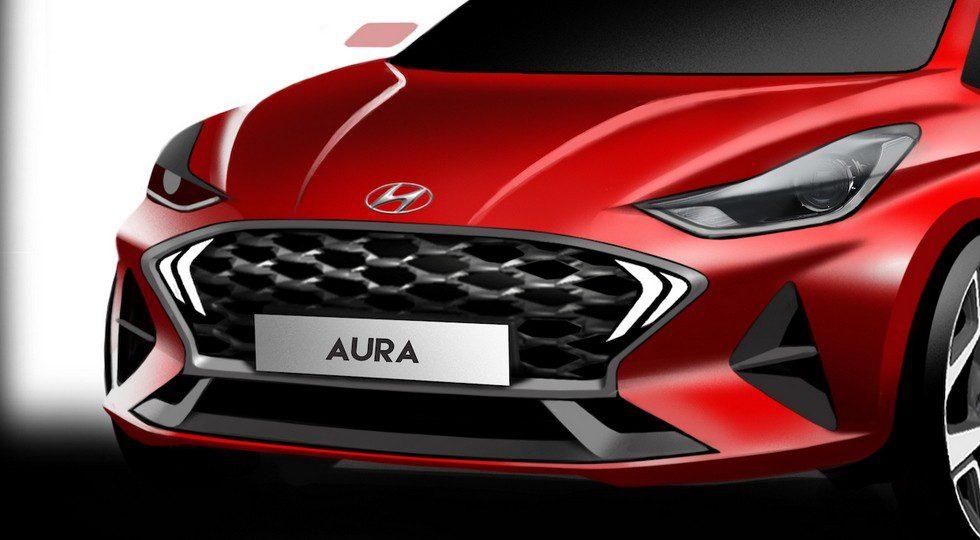 Hyundai продемонстрировала новый доступный седан Aura