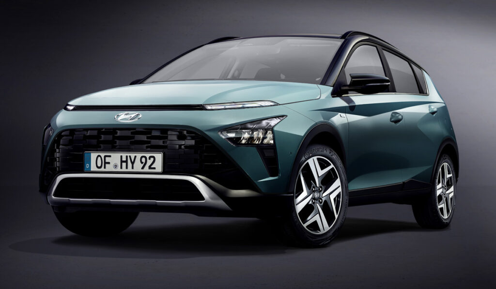 Hyundai представил новейший кроссовер Hyundai Bayon для Европы