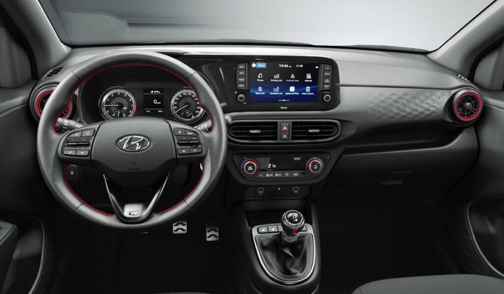 Хэтчбек Hyundai i10 N Line обзавелся литровым турбомотором