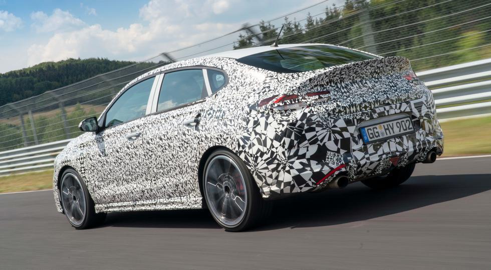 Hyundai завершает разработку «заряженного» лифтбека i30 N