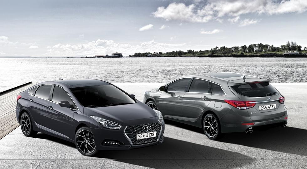 Hyundai представил обновленный универсал и седан Hyundai i40