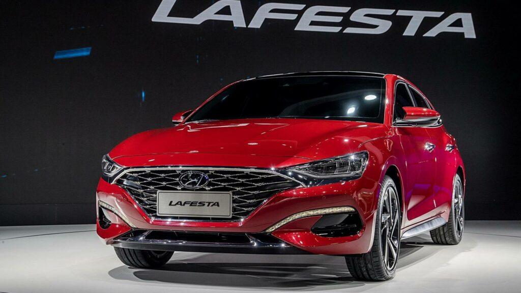 Компания Hyundai представила новый спортивный седан Lafesta