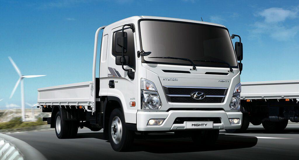 На «Автоторе» представили новый автомобиль Hyundai New Mighty