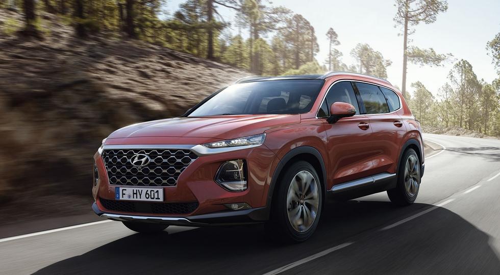 Названа дата премьеры нового кроссовера Hyundai Santa Fe в России