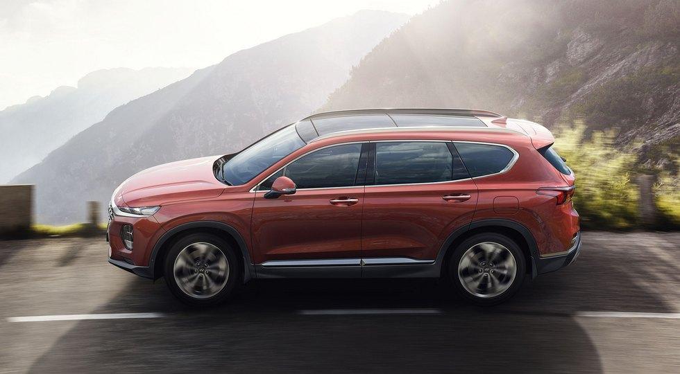 Продажи нового кроссовера Hyundai Santa Fe в РФ начнутся этой осенью