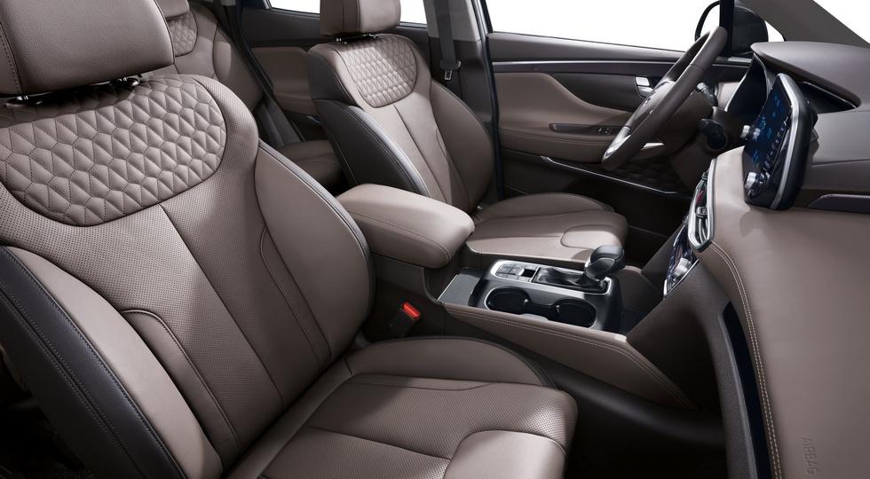Европейский Hyundai Santa Fe нового поколения рассекречен официально