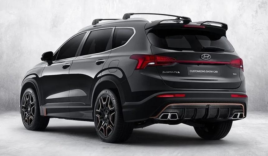 Hyundai презентовала спортивную версию кроссовера Hyundai Santa Fe