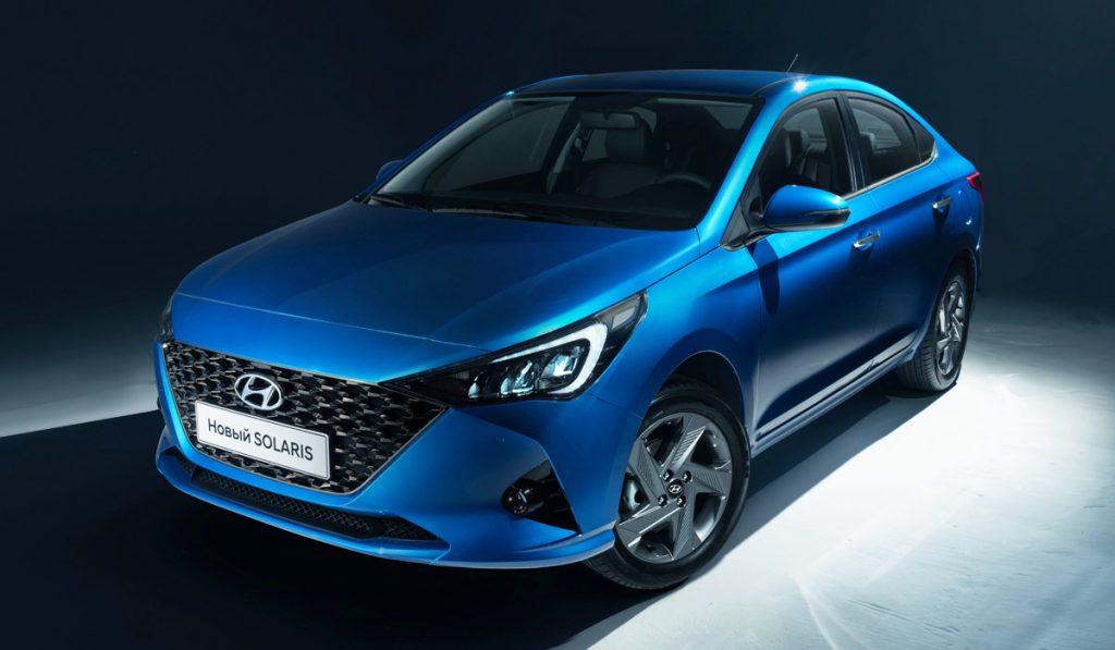 В РФ Hyundai Solaris получил новую безопасную версию
