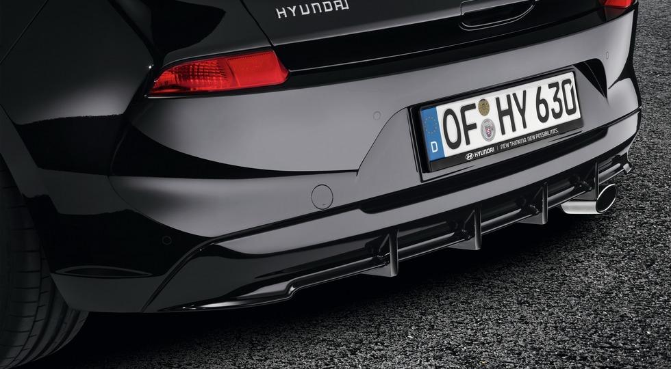 Hyundai для хэтчбека i30 разработал новый набор аксессуаров
