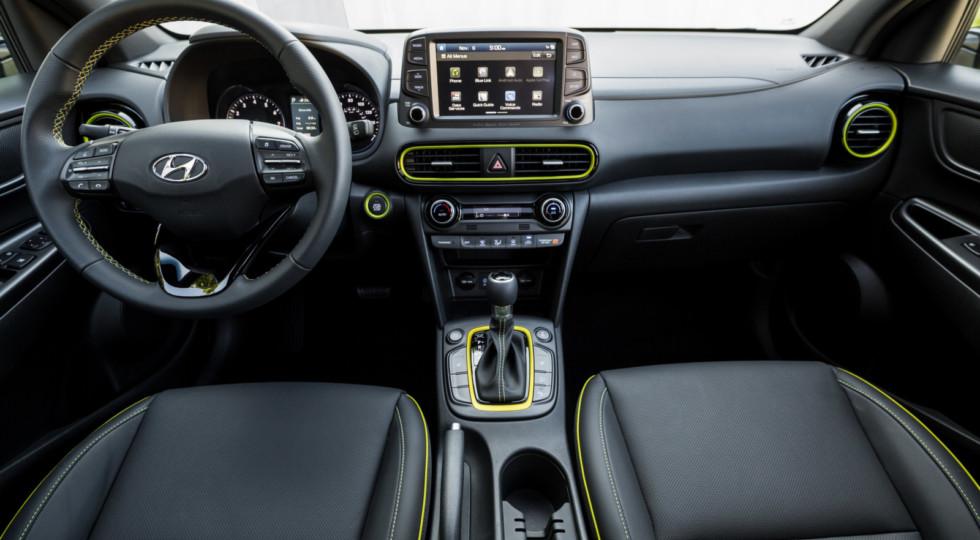Hyundai в Лос-Анджелесе представила новый кроссовер Kona