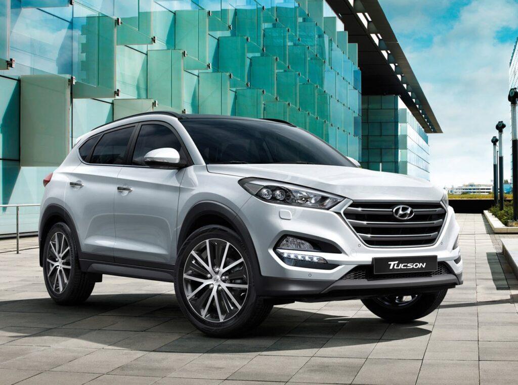Кроссовер Hyundai Tucson подорожал в России на 10 тысяч рублей
