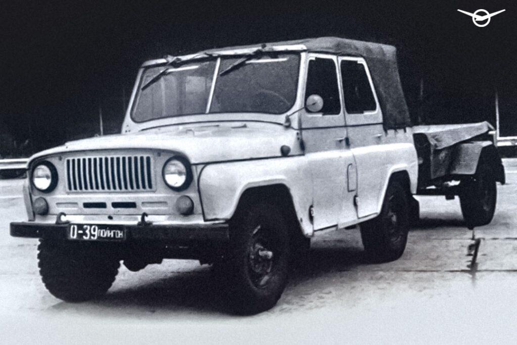 УАЗ показал в сети неизвестный концепт внедорожника УАЗ-3151