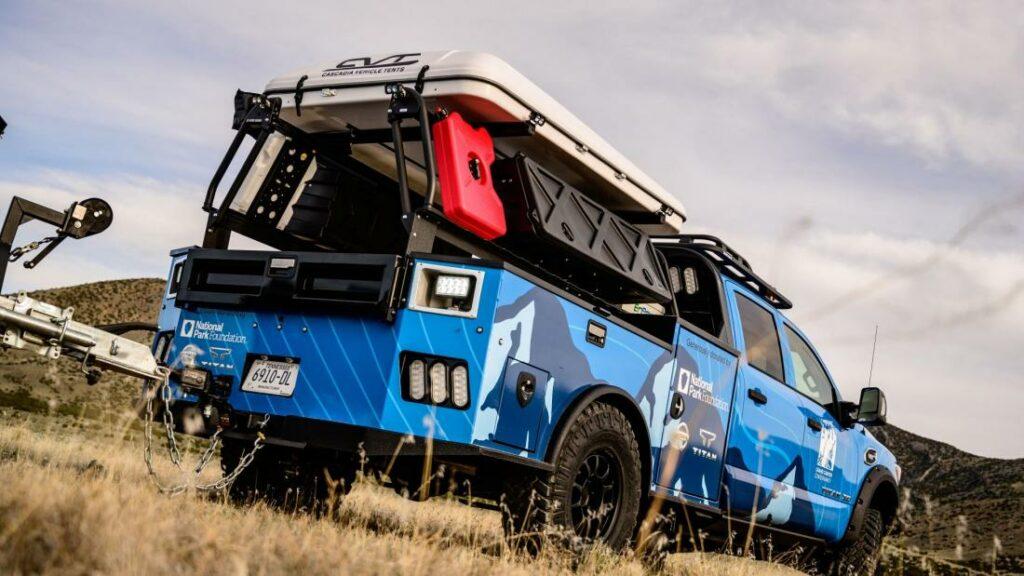 Спецверсию Nissan Titan посвятили парку «Гранд Каньон»