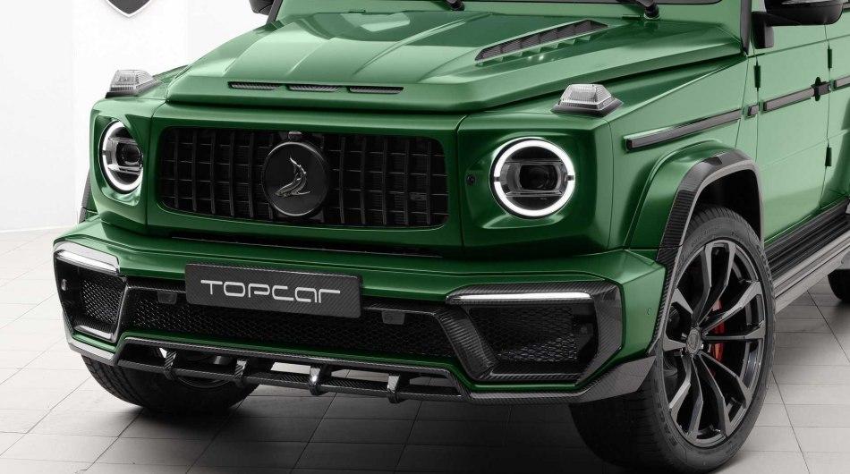 Тюнеры TopCar показали внедорожник Inferno на базе нового G-Class