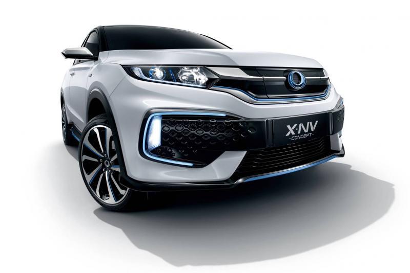 В Шанхае представили концепт кроссовера Honda X-NV