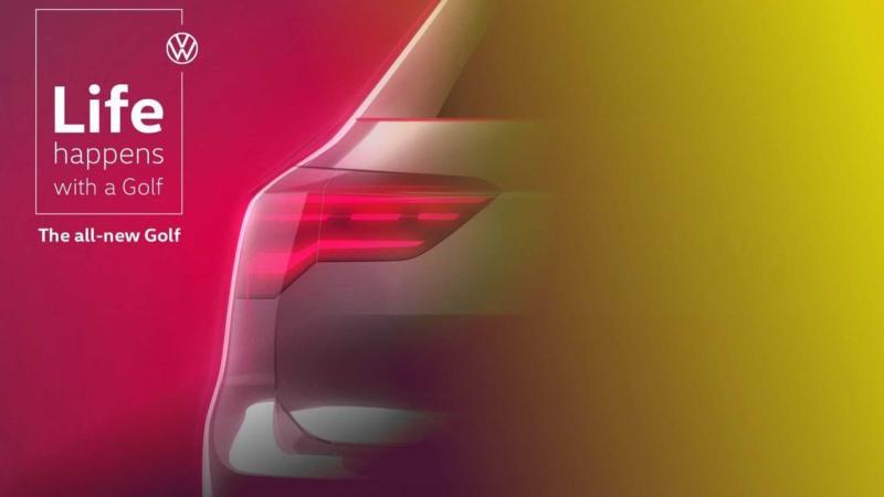 Volkswagen распространила финальный тизер нового Golf