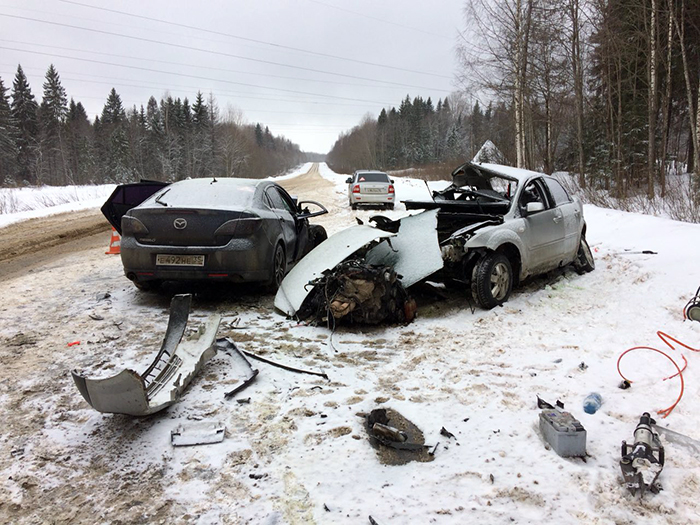 Смертельное ДТП в Сокольском районе унесло жизнь водителя
