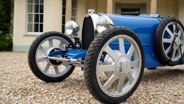 Bugatti выпустит 500 детских электрокаров по цене в 30 тысяч евро
