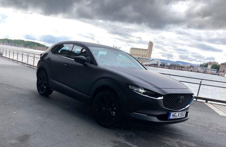 Первая электрическая Mazda замечена на улицах Норвегии