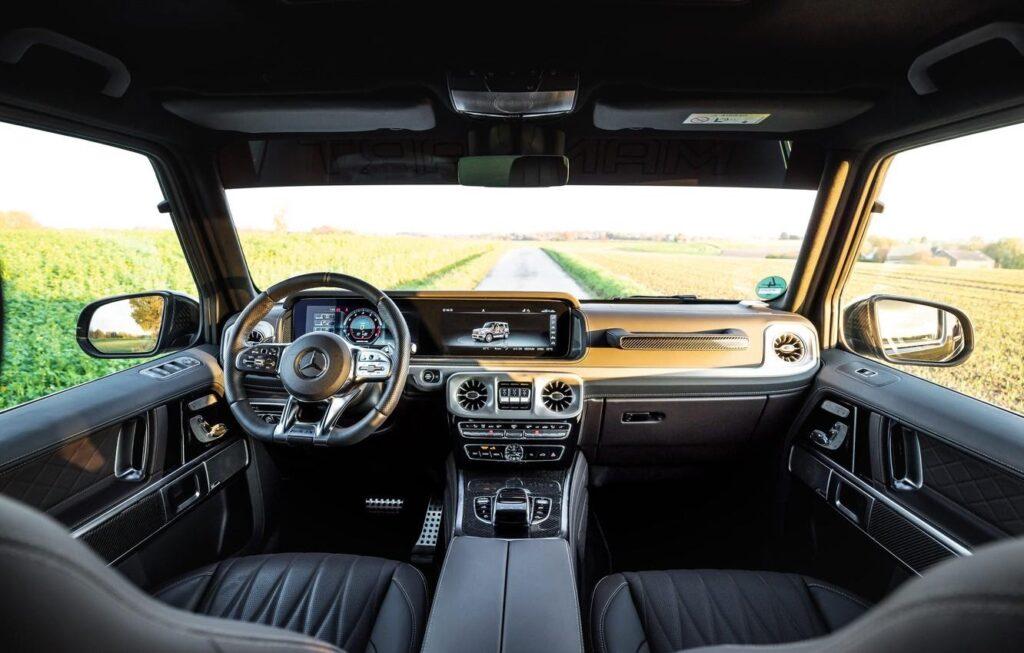 Общий обзор Mercedes Gelandewagen