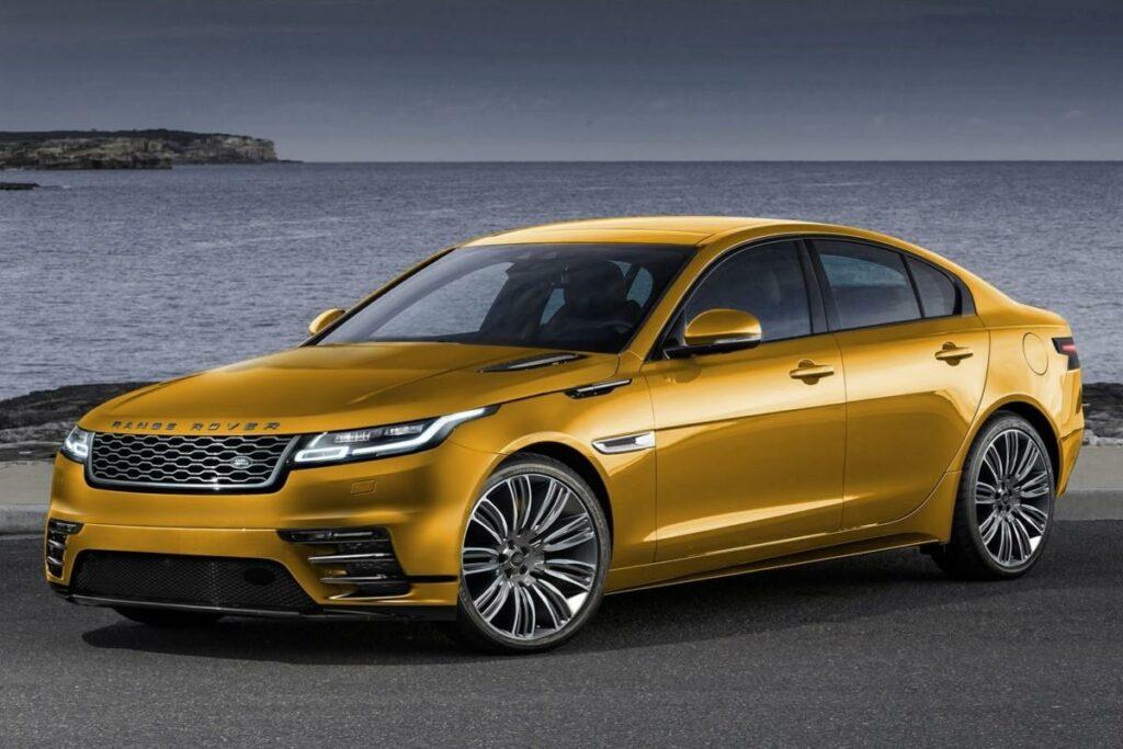 В Сети появились первые изображения седана Range Rover на базе Jaguar XE