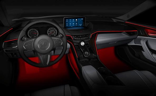 Acura MDX и TLX появились на первых официальных изображениях