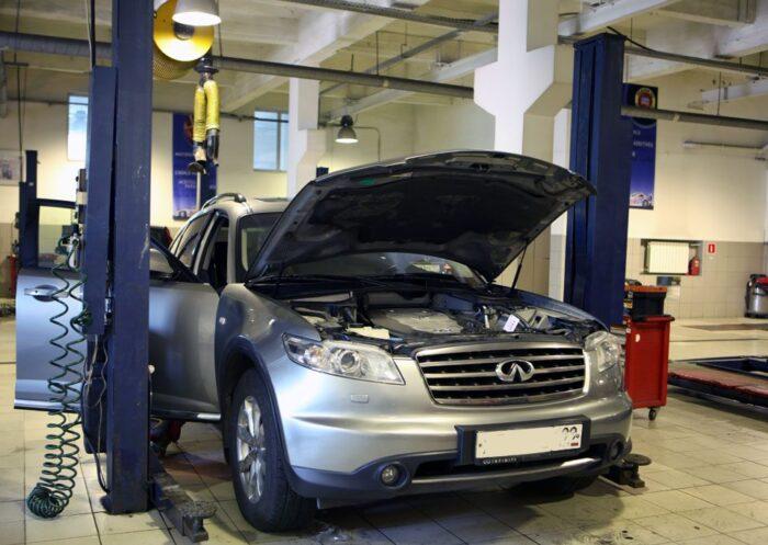 Обслуживание автомобилей INFINITI: то, что требуется каждому