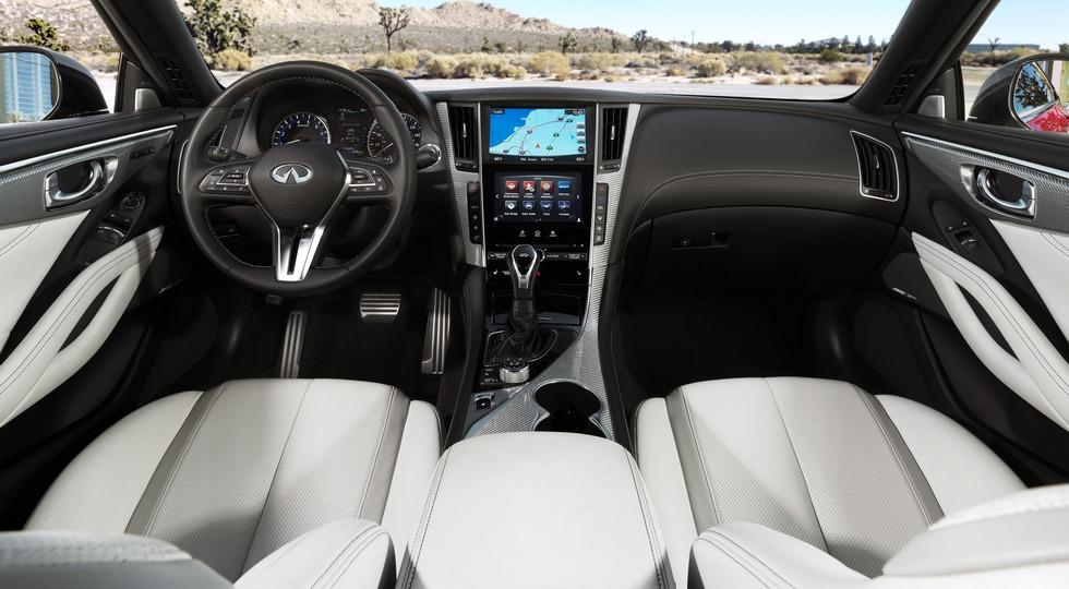 Стартовали российские продажи обновленного купе Infiniti Q60 2018