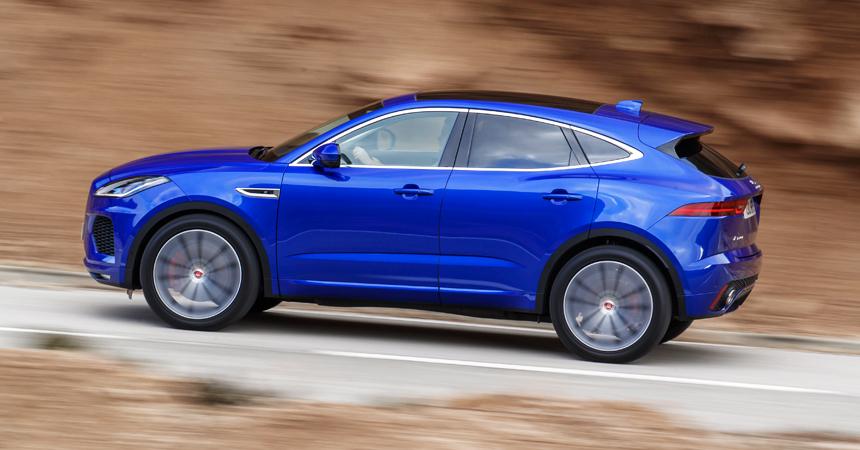 Представлен обновленный кроссовер Jaguar E-Pace для России