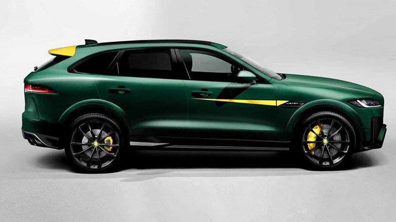 Тюнинг-ателье Lister Motor представило доработанный Jaguar F-Pace