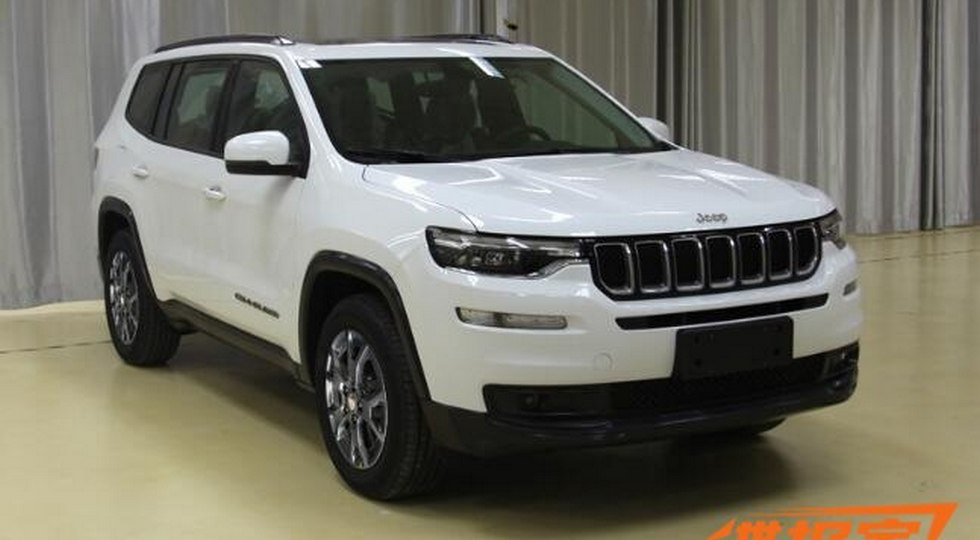 Новый джип Jeep получит версии Commander иGrand Commander