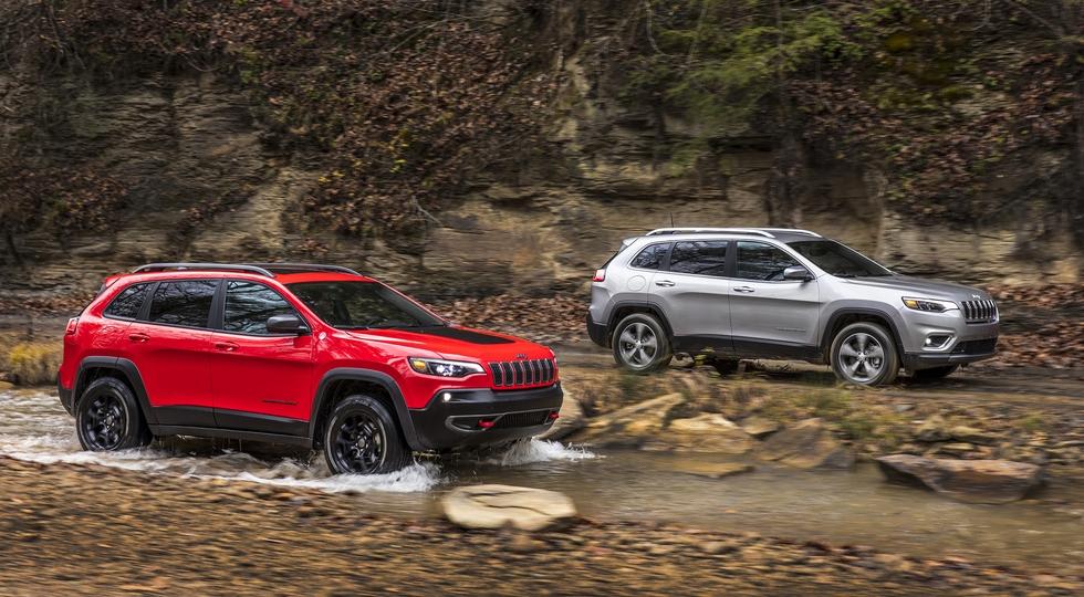Jeep отзывает в России более 250 моделей Jeep Cherokee