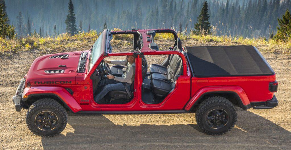 Jeep представил новый пикап Jeep Gladiator