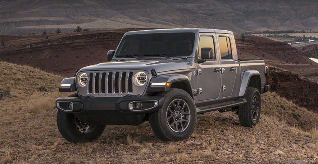 Новый пикап Jeep Gladiator появится на европейском рынке