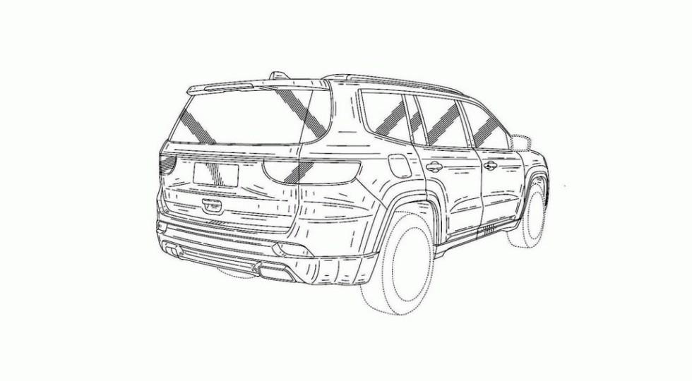 Рассекречен дизайн большого внедорожника Jeep Grand Commander