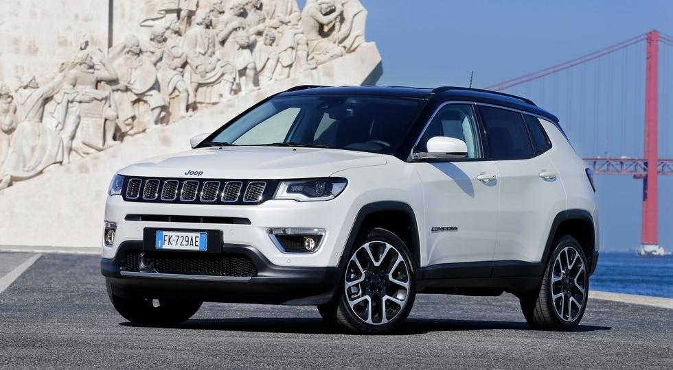 Названа цена на новый внедорожник Jeep Compass для России