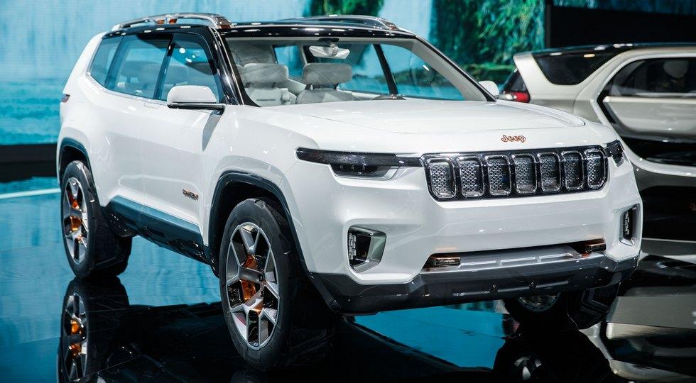 Jeep зарегистрировала новое имя для большого внедорожника