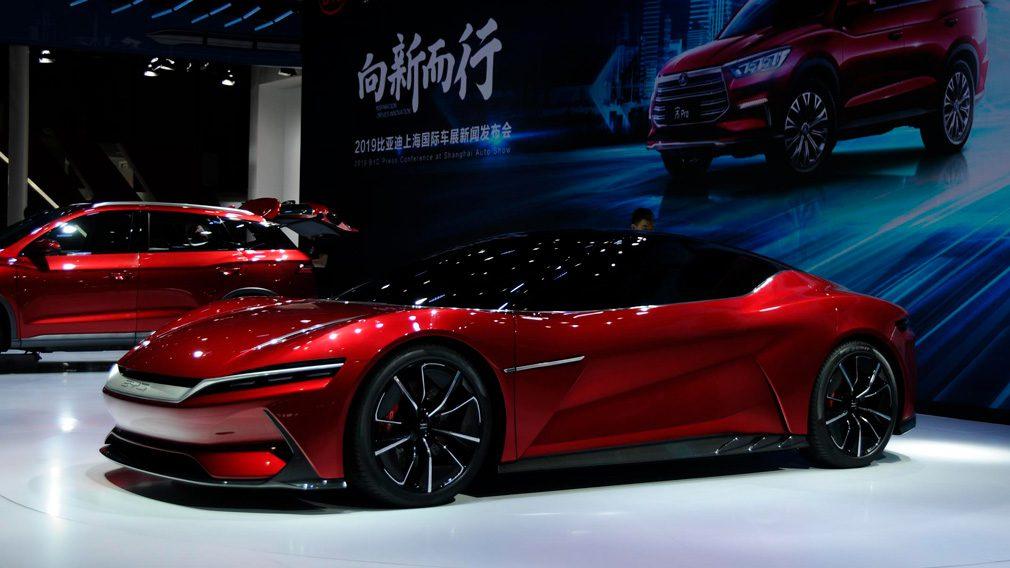 В Шанхае показали суперкар BYD E-Seed GT, разгоняющийся до 100 км/ч за 2,9 секунды