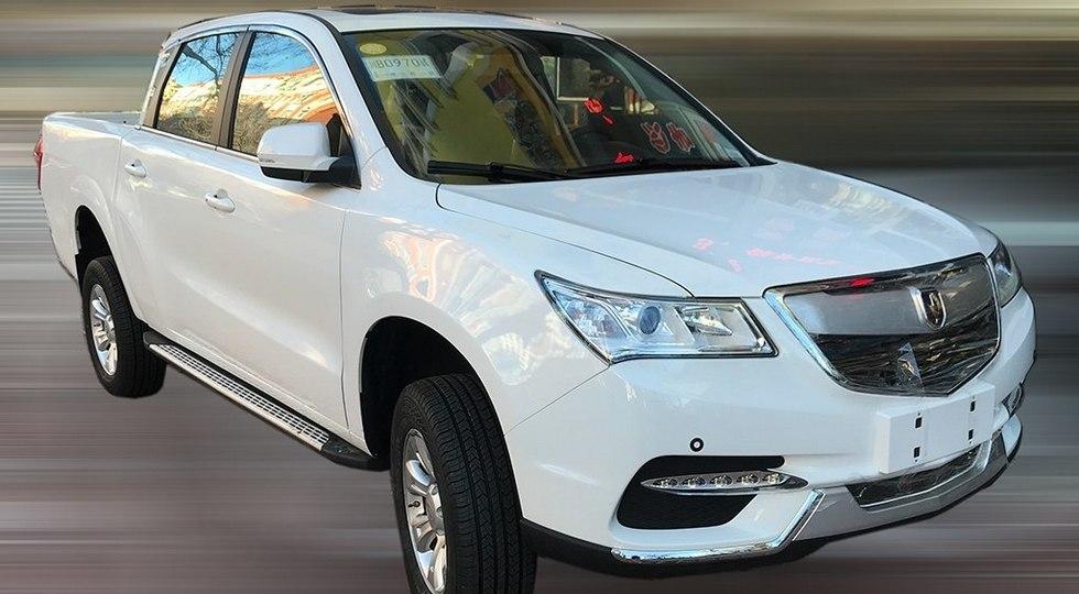 Jinbei превратила в пикап клон премиального внедорожника Acura MDX